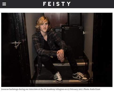 Jessarae // Feisty Magazine, 2017