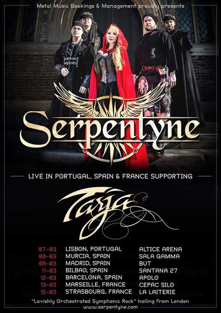 Serpentyne // Tour Poster, 2020