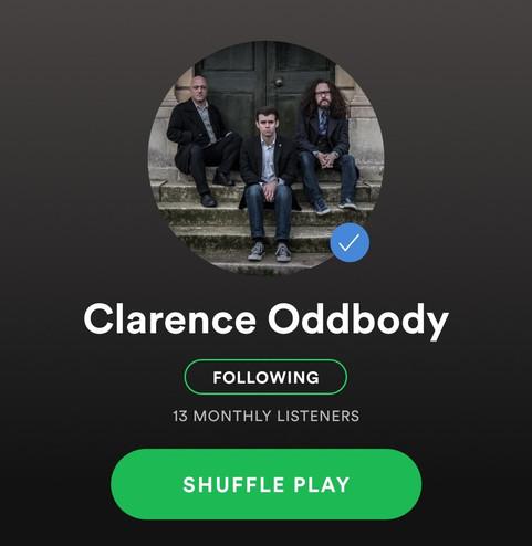 Clarence Oddbody // Spotify, 2019