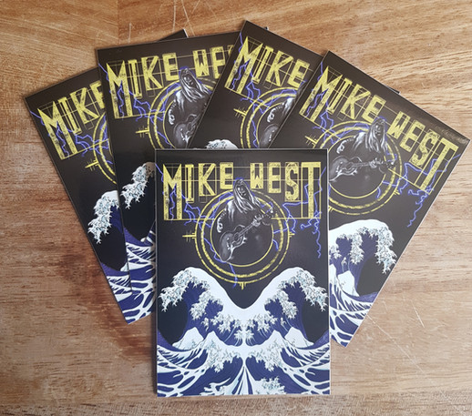 Mike West // Promo Stickers, 2019