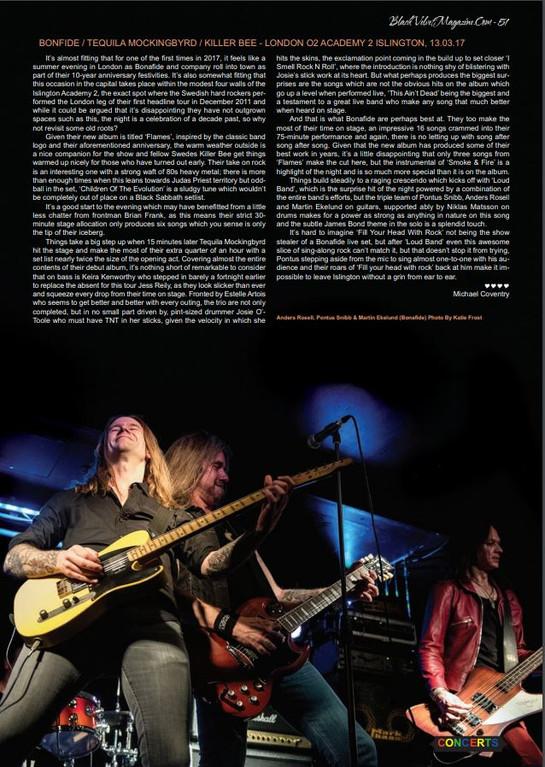 Bonafide // Black Velvet Magazine, 2017