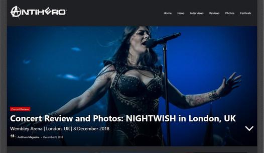 Nightwish // Antihero, 2018