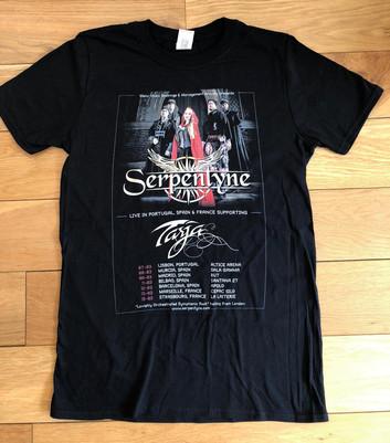 Serpentyne // Tour tshirt, 2020