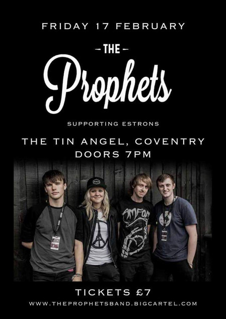 The Prophets // Gig poster, 2017