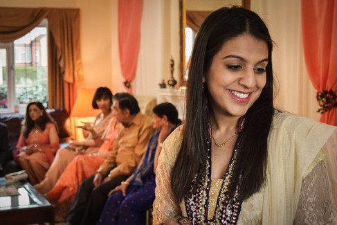Natasha's Mehndi Party, 2015