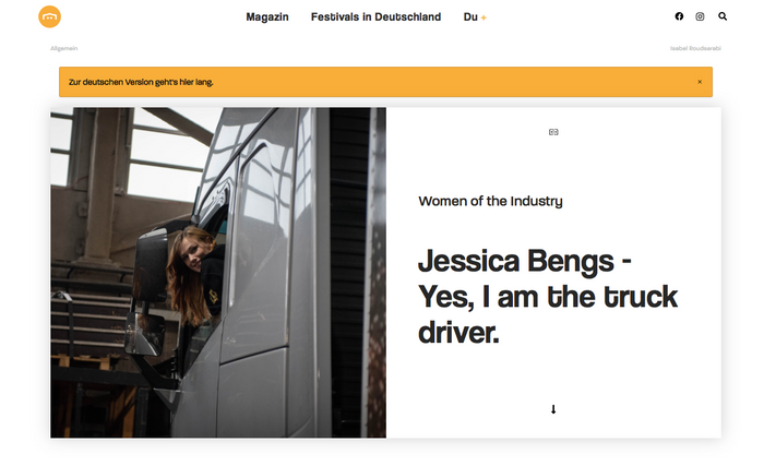 Jessica Bengs // Hoemepage, 2020