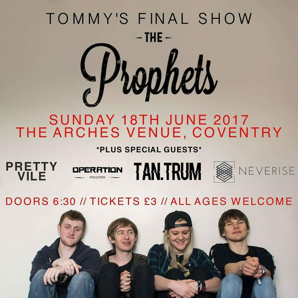The Prophets //Show Poster, 2017