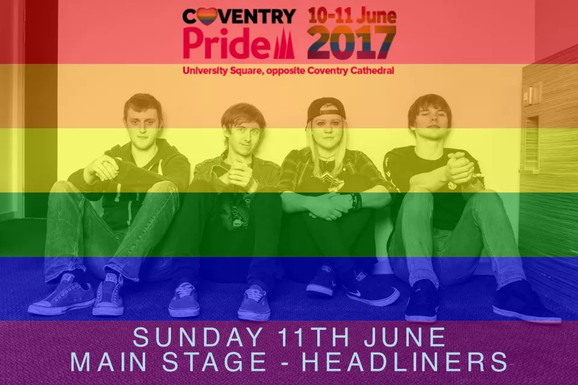 The Prophets // Coventry Pride, 2017