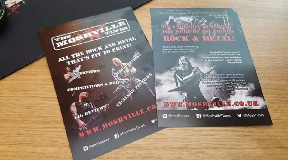 The Moshville Times // Flyers, 2017