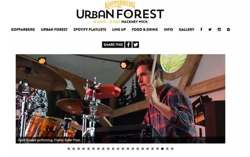 Kopparberg Urban Forest // Website, 2015