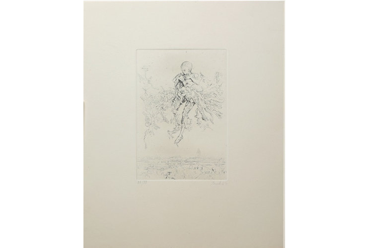 Miodrag Djuric (Dado) Sans titre (174), 1967