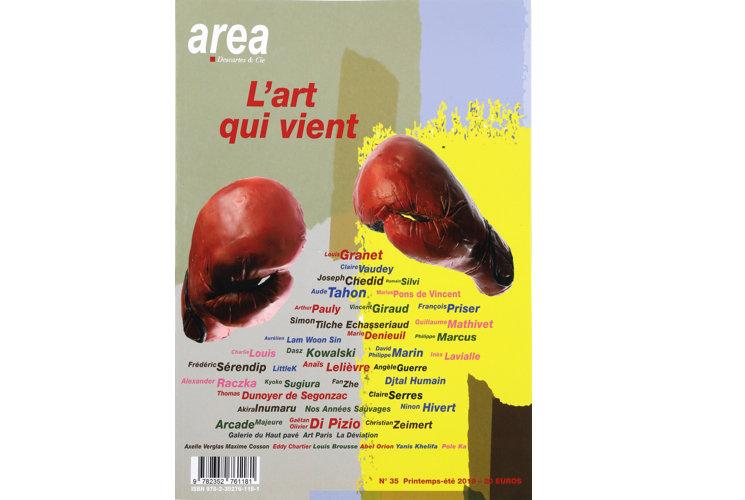 Area revue n°35 - L'art qui vient