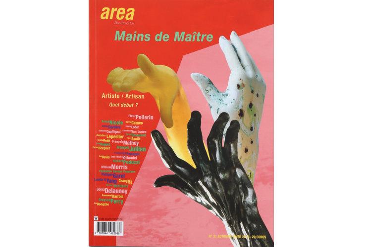 Area revue n°31 - Mains de Maître