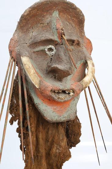 Masque marionnette – Île Malekula, archipel du Vanuatu
