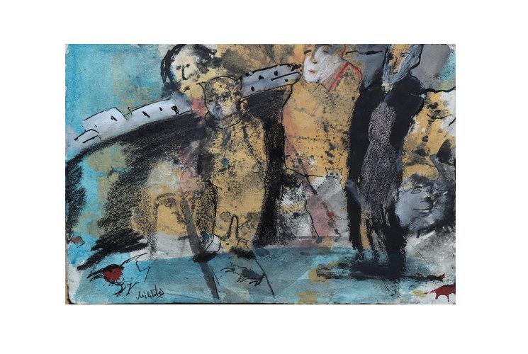 Zwy Milshtein Sans titre (192), 1982