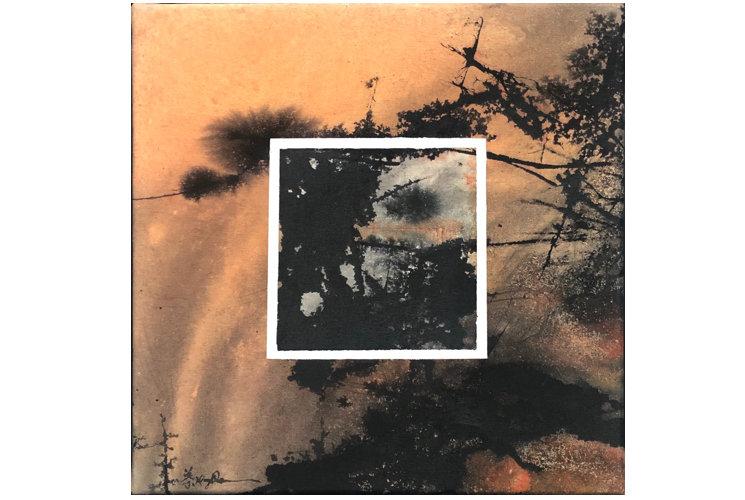 Ye Xing-Qian Fenêtre Oranges, 2020