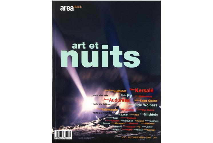 Area revue n°13 - Art et nuits