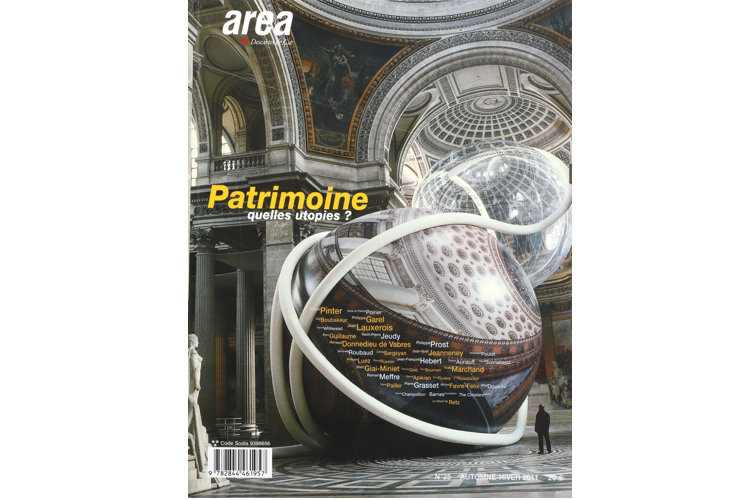 Area revue n°25 - Patrimoines,quelles utopies?