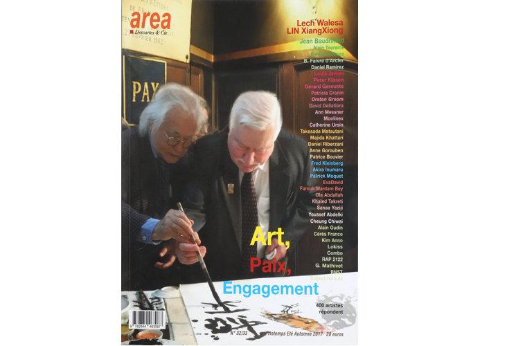 Area Revue n°32/33 - Art, Paix, Engagement