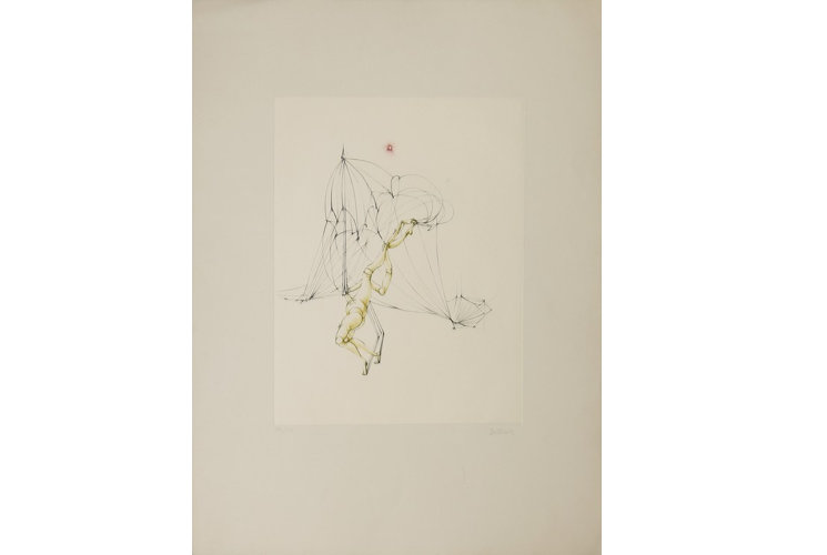 Hans Bellmer Œillade ciselée 1, 1972