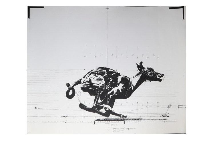 Vladimir Velickovic Animal in motion, 1971