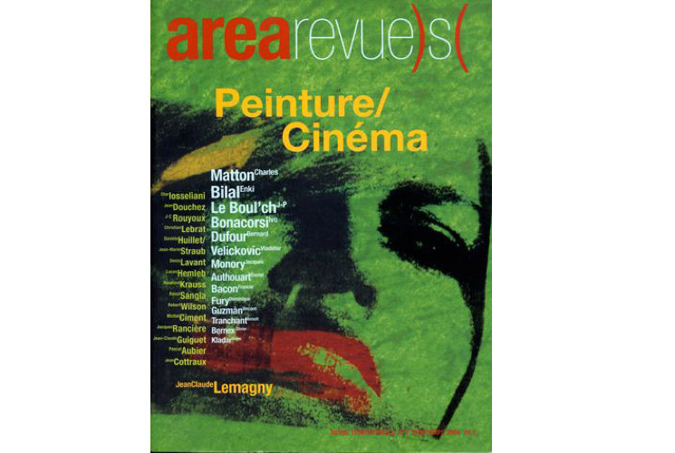 Area revue n°7 - Peinture/Cinéma