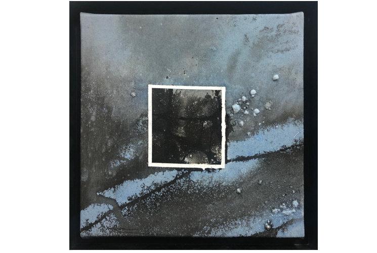 Ye Xing-Qian Bleu fenêtre sombre, 2020