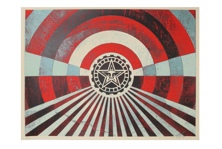 Shepard Fairey (Obey) Tunnel vision, 2018