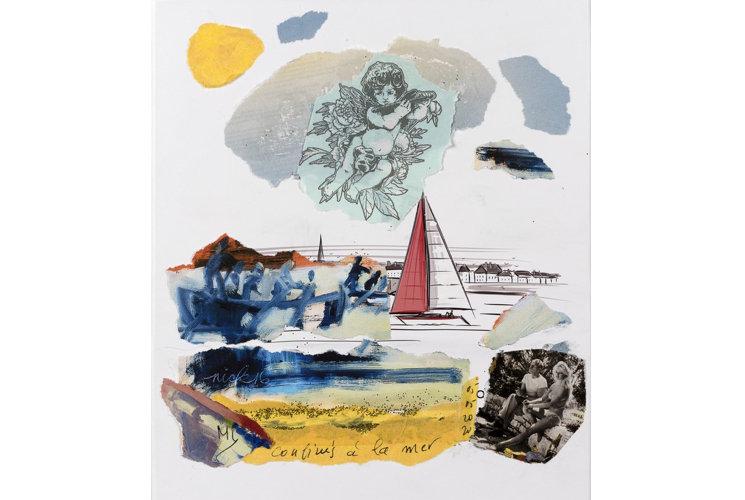 Mylène Vignon Confinés à la mer, 2020