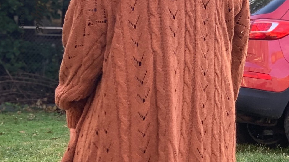 Brown Bliss Cardigan
