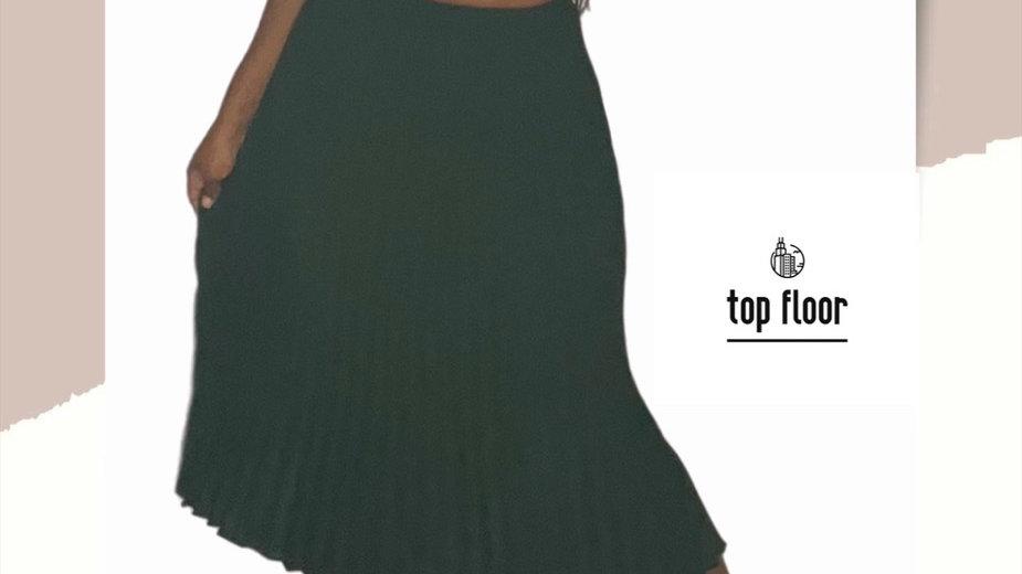 Emerald Pleats