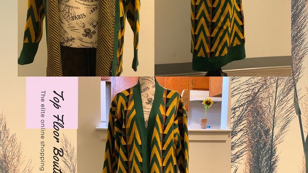 """""""Green with Envy"""" Cardigan"""
