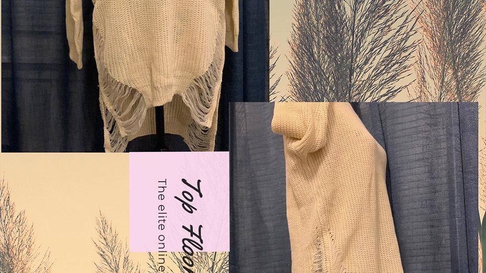 TF Distressed Sweater