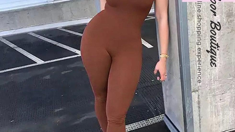 Brown Beauty Bodysuit