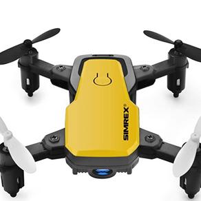 SIMREX X300C 8816 Mini Drone with Camera WiFi HD FPV Foldable RC Quadcopter Rtf 4CH