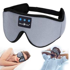 Sleep Headphones 3D Bluetooth Sleep Mask, MUSICOZY Wireless Music Eye Mask with Sleeping Headphones