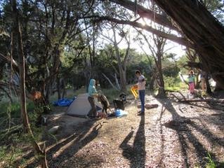 Backpacking Club Takes On Pedernalas Falls State Park