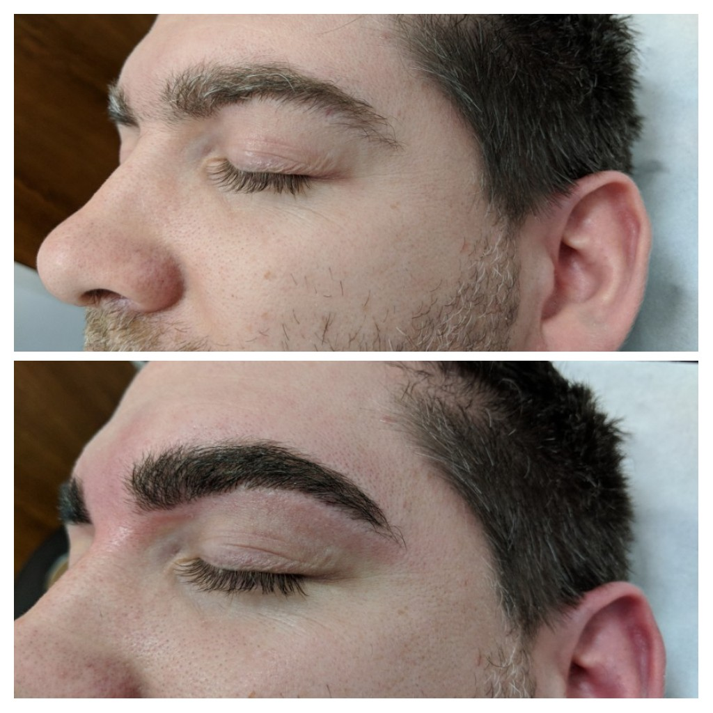 Guy brows