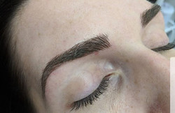 Microblading yearly top up 😊👌_#micropi