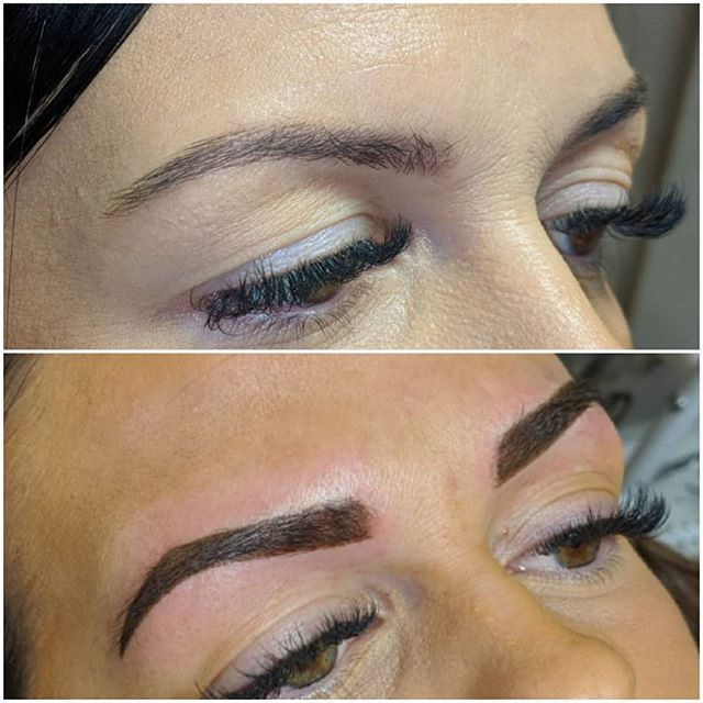 SPMU Powder brows 👌 💜Brows will appear