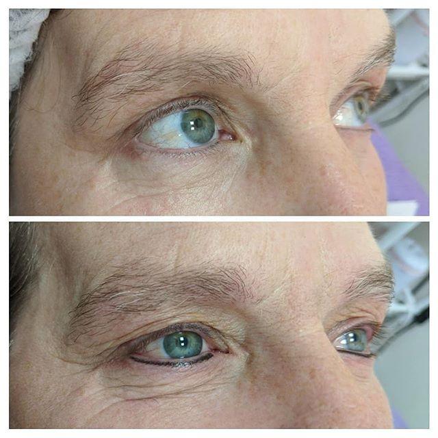 Semi permanent bottom eyeliner, will sof