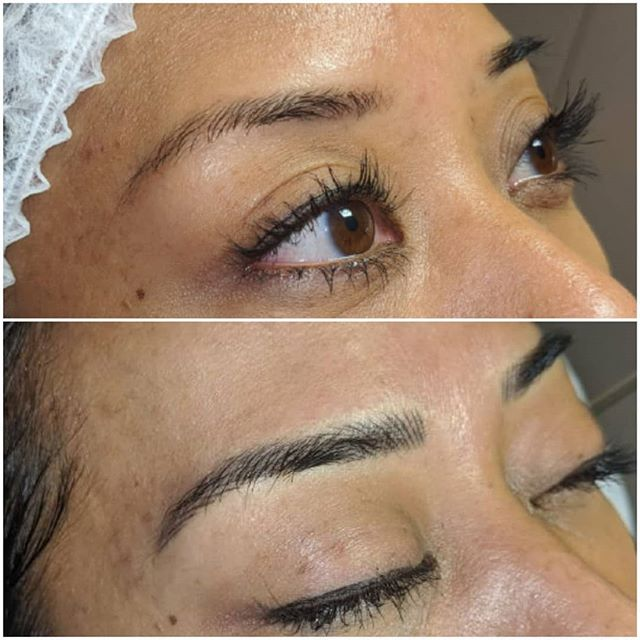 Microblading by Rebecca Pearl 😍 Before