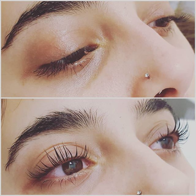 That's what I call a lash lift! 😀_#lvll