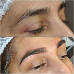 Ombre brows 😍 I am really loving how na