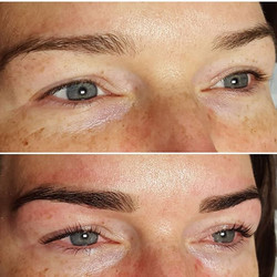 More HD brows and Lvl lashes 👌_Why not