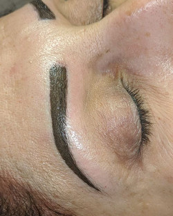Powder brows 😍_Brows will sofen by 40%