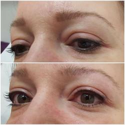 Spmu top up, client had eyeliner done el