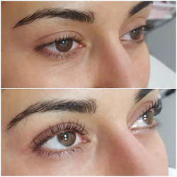 Lvl lashes 😍💜👌 Client also wanted a m