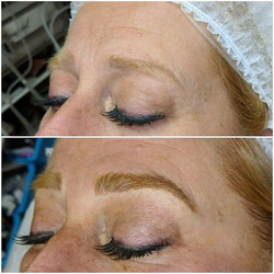 Microblading by Rebecca Pearl 💜client w