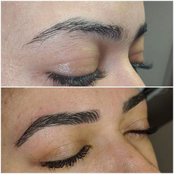 Natural Microblading by Rebecca Pearl 😍